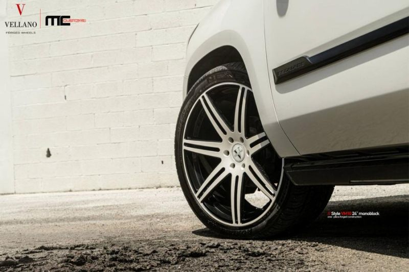 24 Zoll Vellano Forged Wheels Cadillac Escalade VM10 Monoblock 3 24 Zoll Vellano Forged Wheels am Cadillac Escalade