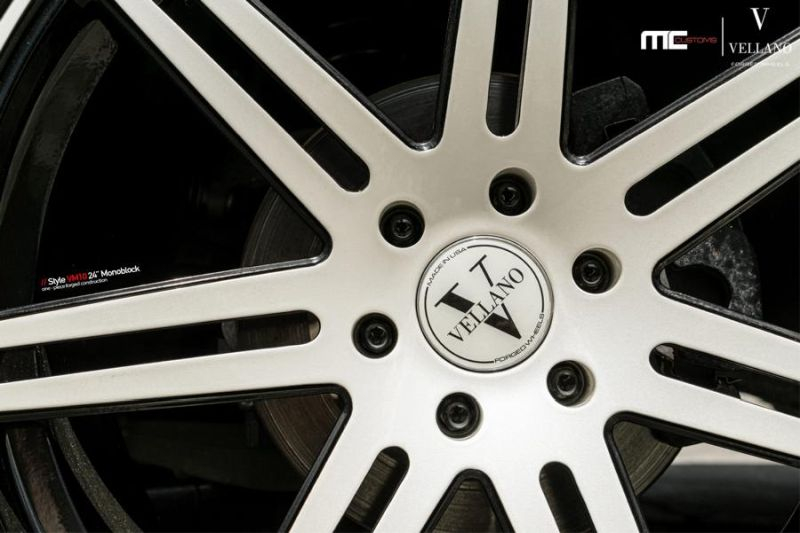 24 Zoll Vellano Forged Wheels Cadillac Escalade VM10 Monoblock 5 24 Zoll Vellano Forged Wheels am Cadillac Escalade