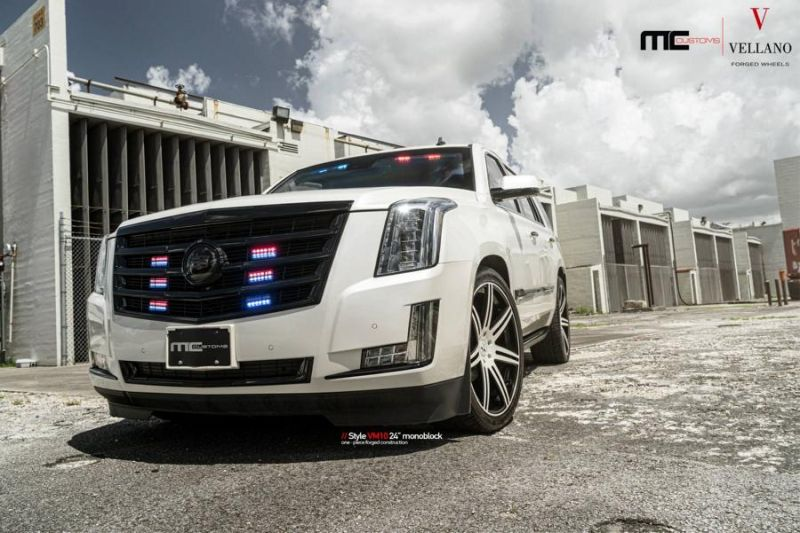 24 Zoll Vellano Forged Wheels Cadillac Escalade VM10 Monoblock 6 24 Zoll Vellano Forged Wheels am Cadillac Escalade