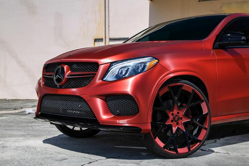 26 Zoll Forgiato Wheels insetto ecl Tuning Mercedes Benz GLE450 AMG 4 Ohne Worte   26 Zoll Forgiato Wheels am Mercedes Benz GLE450 AMG
