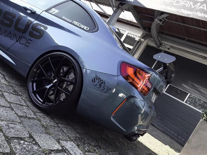 425PS 650NM Versus Performance BMW M2 F87 Coupe Chiptuning KW Akrapovic 3 Top   425PS & 650NM im Versus Performance BMW M2 F87