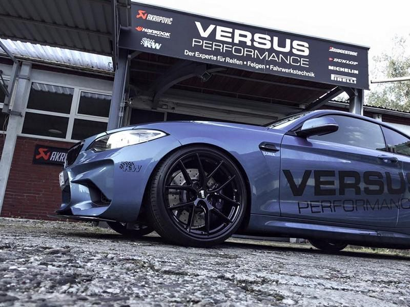 425PS 650NM Versus Performance BMW M2 F87 Coupe Chiptuning KW Akrapovic 4 Top   425PS & 650NM im Versus Performance BMW M2 F87