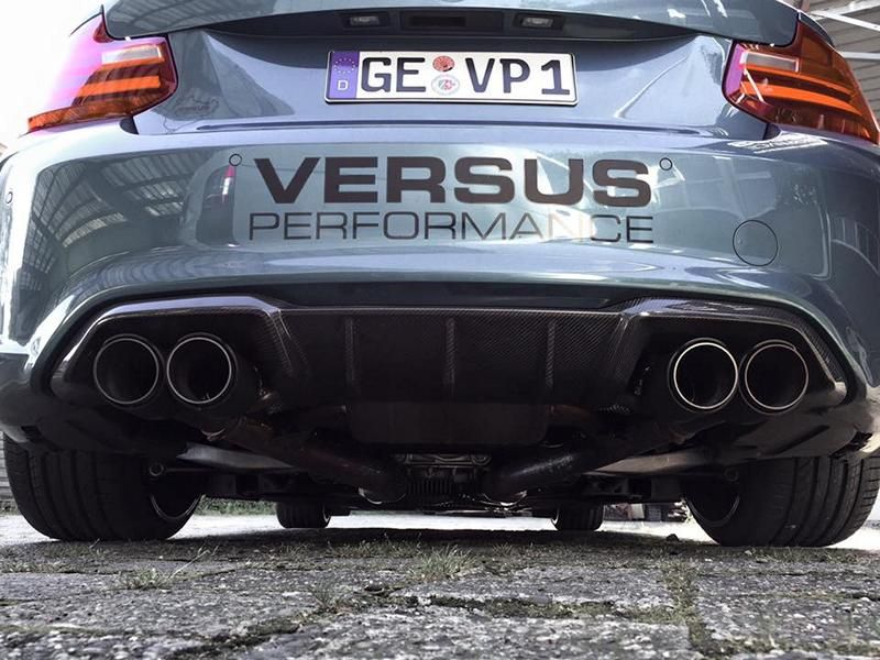 425PS 650NM Versus Performance BMW M2 F87 Coupe Chiptuning KW Akrapovic 5 Top   425PS & 650NM im Versus Performance BMW M2 F87