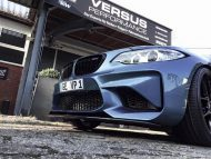 425PS 650NM Versus Performance BMW M2 F87 Coupe Chiptuning KW Akrapovic 6 190x143 Top   425PS & 650NM im Versus Performance BMW M2 F87