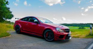 555PS 705NM RENNtech Mercedes C63 AMG W204 Tuning Black Series 4 1 310x165 855PS Mercedes E63 AMG T Modell auf Vossen Wheels Alu's