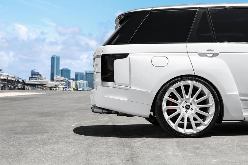 650PS Arden AR9 Forgiato 24 Zoll Widebody Kit MC Customs Range Rover 4 650PS & Arden AR9 Widebody Kit am MC Customs Range Rover