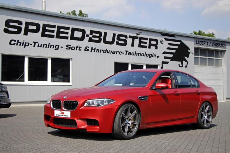 695PS 844NM 30 Jahre BMW M5 F10 Speed Buster Chiptuning 1 695PS & 844NM im 30 Jahre BMW M5 F10 von Speed Buster