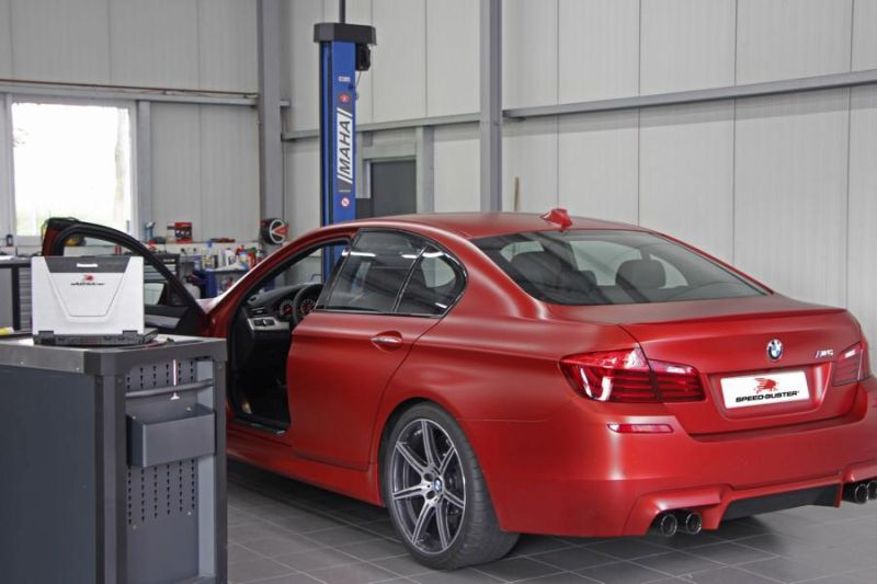 695PS 844NM 30 Jahre BMW M5 F10 Speed Buster Chiptuning 4 695PS & 844NM im 30 Jahre BMW M5 F10 von Speed Buster