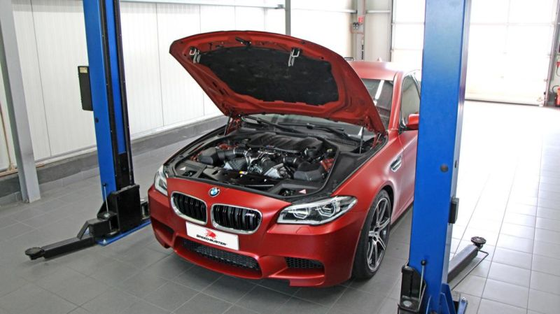 695PS & 844NM 30 Jahre BMW M5 F10 Speed-Buster Chiptuning (5)