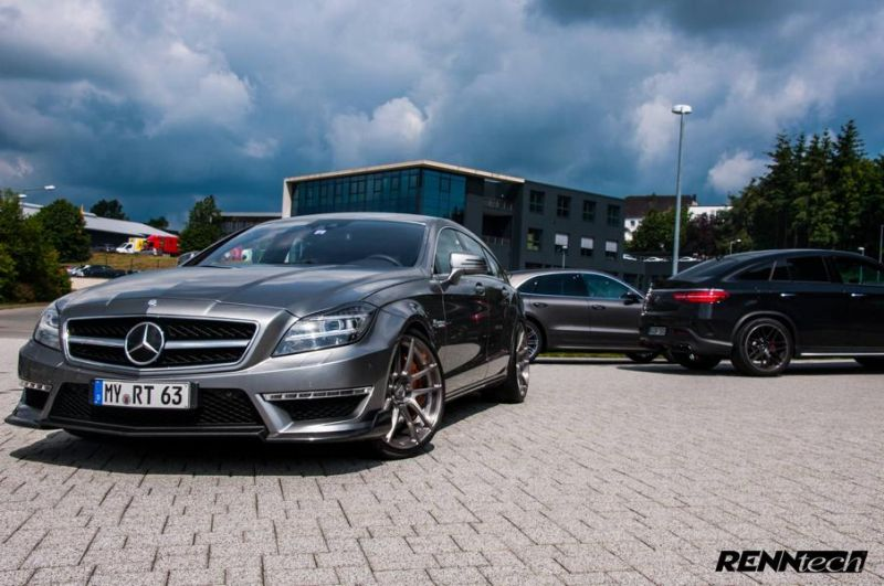 850PS 1.150NM RENNtech Mercedes CLS63 AMG Shootingbrake Tuning 1 850PS & 1.150NM im RENNtech Mercedes CLS63 AMG Shootingbrake
