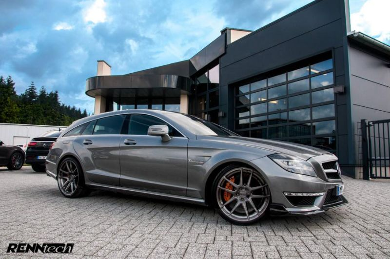 850PS 1.150NM RENNtech Mercedes CLS63 AMG Shootingbrake Tuning 2 850PS & 1.150NM im RENNtech Mercedes CLS63 AMG Shootingbrake