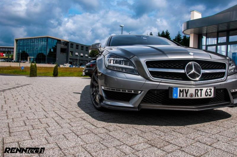 850PS 1.150NM RENNtech Mercedes CLS63 AMG Shootingbrake Tuning 3 850PS & 1.150NM im RENNtech Mercedes CLS63 AMG Shootingbrake