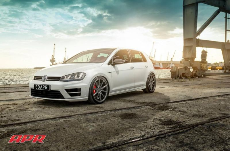 APR LLC APR Performance VW Golf R MK7 Tuning Vossen Alu's 1 APR LLC (APR Performance) VW Golf R MK7 auf Vossen Alu's
