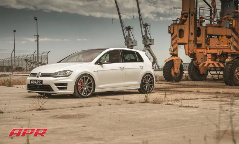 APR LLC APR Performance VW Golf R MK7 Tuning Vossen Alu's 3 APR LLC (APR Performance) VW Golf R MK7 auf Vossen Alu's