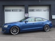 Audi A5 Coupe Tuning TVW Car Design BBS KW 2 190x143 Dezent & schick   Audi A5 Coupe vom Tuner TVW Car Design