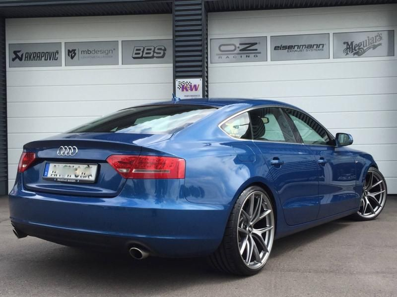 Audi A5 Coupe Tuning TVW Car Design BBS KW 3 Dezent & schick   Audi A5 Coupe vom Tuner TVW Car Design