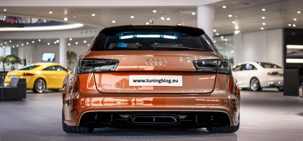 Audi A6 C7 RS6 Avant Widebody Tiefer Audi A6 RS6 C7 Avant Exclusive by tuningblog.eu