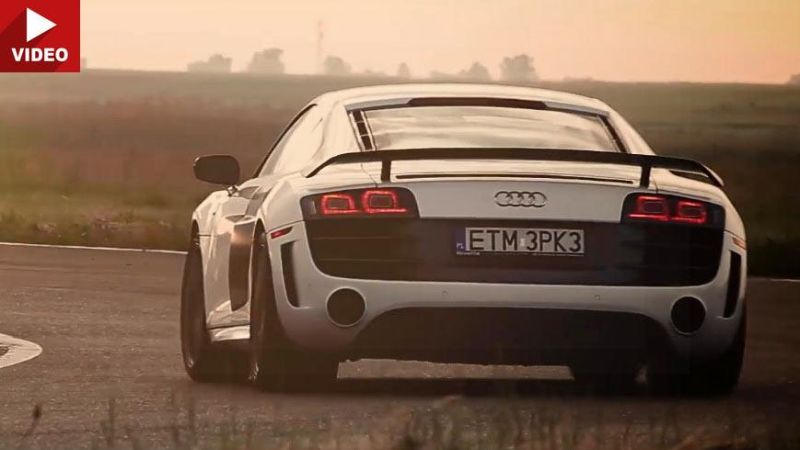 Audi R8 GT Kline Innovation Auspuff Tuning 9 Video: Traumhaft   Audi R8 GT mit Kline Innovation Auspuff