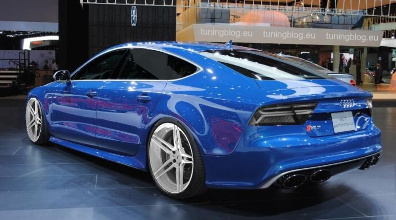 Audi RS7 Performance tuning adv.1 wheels 1 Audi RS7 Performance auf Adv.1 Wheels Alufelgen by tuningblog