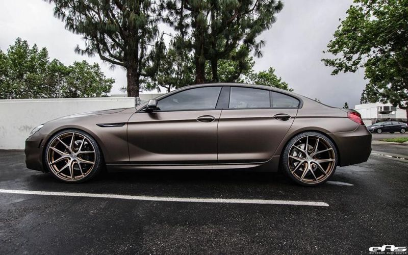 BMW 6er Gran Coupe F12 Bronze matt European Auto Source AG M580 HR Tuning 1 BMW 6er Gran Coupe in Bronze matt by European Auto Source