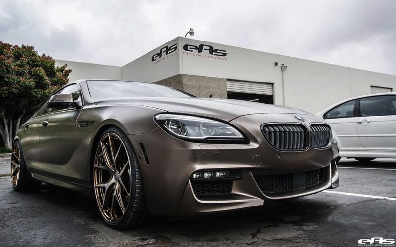 BMW 6er Gran Coupe F12 Bronze matt European Auto Source AG M580 HR Tuning 3 BMW 6er Gran Coupe in Bronze matt by European Auto Source