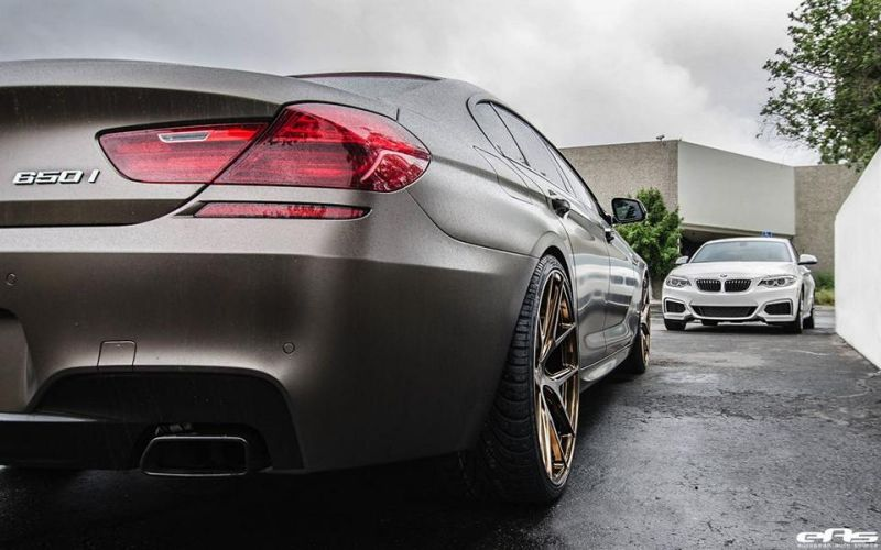 BMW 6er Gran Coupe F12 Bronze matt European Auto Source AG M580 HR Tuning 4 BMW 6er Gran Coupe in Bronze matt by European Auto Source