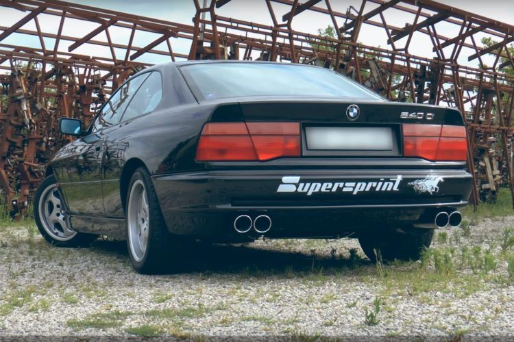 BMW 840Ci SuperSprint Sportauspuffanlage Tuning Video: BMW 840Ci mit SuperSprint Sportauspuffanlage