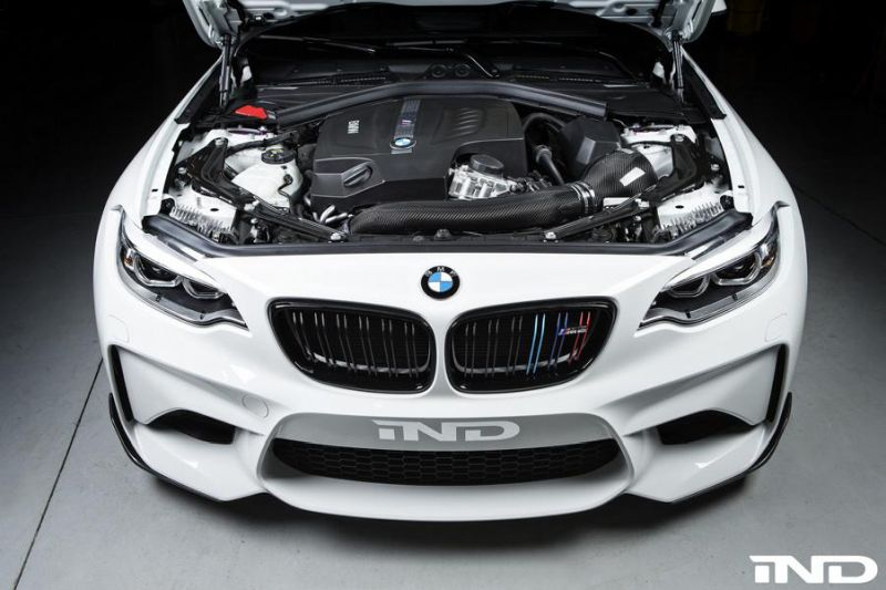 BMW M2 F87 IND Distribution Carbon Air Intake System Tuning (6)