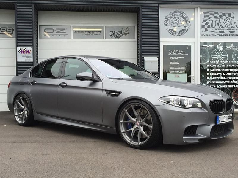 BMW M5 F10 Competition Edition TVW Car Design HRE P101 KW V3 Tuning (6)