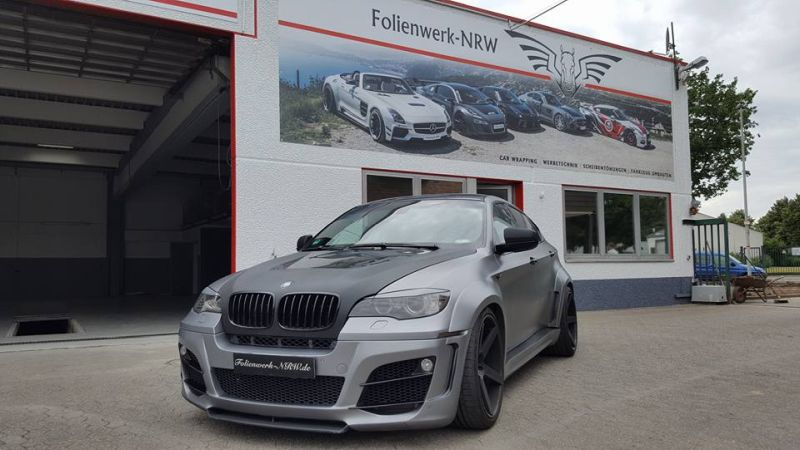 BMW X6 E71 Widebody Lumma CLR X 650 by Folienwerk NRW Tuning 1 Fotostory: BMW X6 E71 Widebody (Lumma CLR X 650) by Folienwerk NRW