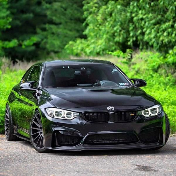 Black BMW M4 F82 Coupe by tuningblog.eu Zito ZS15 Wheels Schwarzes BMW M4 F82 Coupe auf Zito Wheels by tuningblog.eu