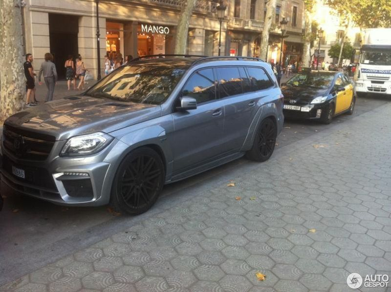 Brabus B63S 700 Widestar Mercedes GL 63 AMG 700PS Tuning 1 Fotostory: Brabus B63S 700 Widestar Mercedes GL 63 AMG mit 700PS
