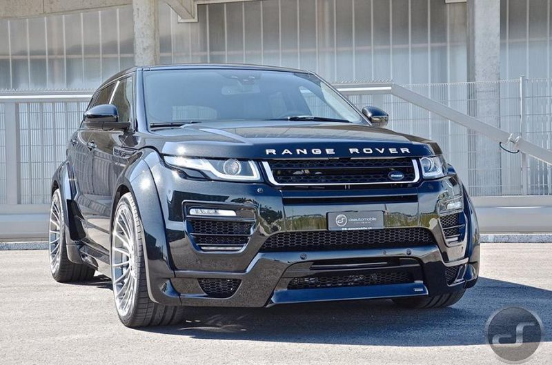 DS automobile - Hamann Range Rover Evoque Widebody Tuning (2)