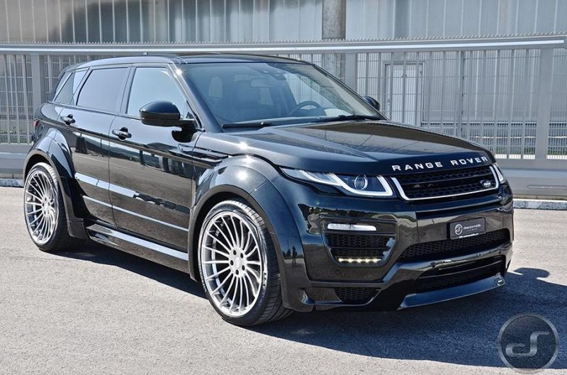 DS automobile - Hamann Range Rover Evoque Widebody Tuning (7)