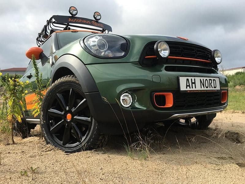 Delta 4x4 Mini Countryman 40mm Höherlegung Tuning (2)