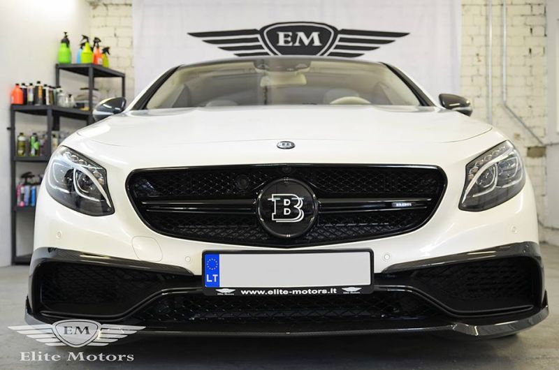Elite Motors 650PS Brabus Mercedes S63 AMG Coupe C217 B63 Chiptuning 1 Elite Motors   650PS Brabus Mercedes S63 AMG Coupe C217