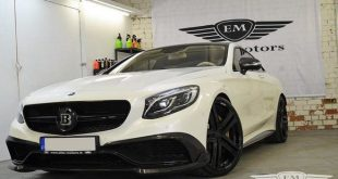 Elite Motors 650PS Brabus Mercedes S63 AMG Coupe C217 B63 Chiptuning 2 1 e1468317362960 310x165 Elite Motors   650PS Brabus Mercedes S63 AMG Coupe C217