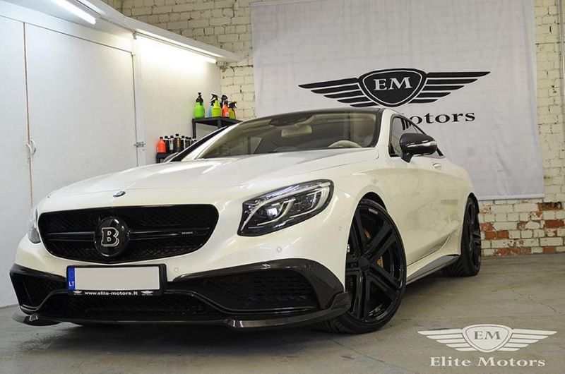 Elite Motors 650PS Brabus Mercedes S63 AMG Coupe C217 B63 Chiptuning 2 Elite Motors   650PS Brabus Mercedes S63 AMG Coupe C217