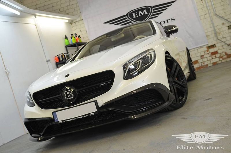 Elite Motors 650PS Brabus Mercedes S63 AMG Coupe C217 B63 Chiptuning 3 Elite Motors   650PS Brabus Mercedes S63 AMG Coupe C217