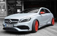 Foliatec Spr%C3%BChfolie URBAN SILVER METALLIC MATT Mercedes A45 AMG Tuning 2 190x123 Video: Foliatec Sprühfolie in Mattsilber am Mercedes A45 AMG