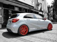 Foliatec Spr%C3%BChfolie URBAN SILVER METALLIC MATT Mercedes A45 AMG Tuning 3 190x139 Video: Foliatec Sprühfolie in Mattsilber am Mercedes A45 AMG