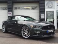Ford Mustang GT 20 Zoll HRE FF01 KW V3 Gewindefahrwerk Tuning TVW Car Design 1 190x143 Ford Mustang GT auf 20 Zoll HRE Alu's by TVW Car Design