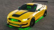 Ford Shelby GT350 Mustang Ole Yeller Tuning 1 190x107 Einzelstück   Ford Shelby GT350 Mustang Ole Yeller