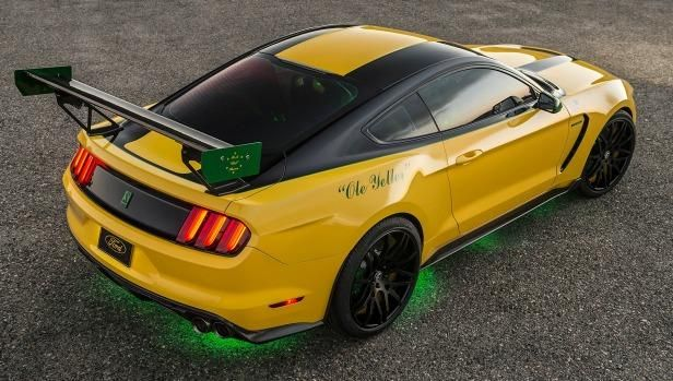 Ford Shelby GT350 Mustang Ole Yeller Tuning 3 Einzelstück Ford Shelby GT350 Mustang Ole Yeller