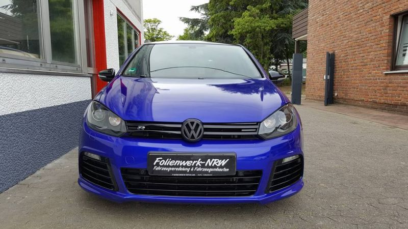 Gloss Blue Raspbery VW Golf 6 R MK6 Folienwerk NRW Wrap Tuning Folierung 2 Gloss Blue Raspbery VW Golf 6 R (MK6) by Folienwerk NRW