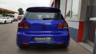 Gloss Blue Raspbery VW Golf 6 R MK6 Folienwerk NRW Wrap Tuning Folierung 4 190x107 Gloss Blue Raspbery VW Golf 6 R (MK6) by Folienwerk NRW