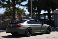 Impressive Wrap BMW M6 F12 Gran Coupe Military Gr%C3%BCn Tuning 3 190x127 Impressive Wrap   BMW M6 F12 Gran Coupe in Military Grün