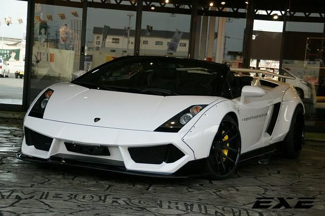 Lamborghini Gallardo Spyder Liberty Walk Widebody Tuning 01Executive EXE 3 Lamborghini Gallardo Spyder Widebody by 01Executive