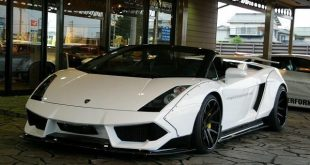 Lamborghini Gallardo Spyder Liberty Walk Widebody Tuning 01Executive EXE 7 310x165 Lamborghini Gallardo Spyder Widebody by 01Executive
