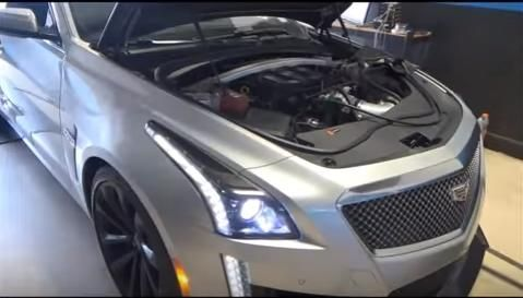 Late Model Racecraft 699PS 2016er Cadillac CTS V Chiptuning Video: Late Model Racecraft   699PS im 2016er Cadillac CTS V